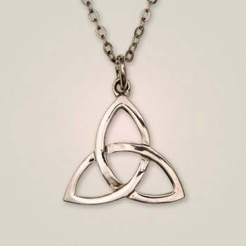 sterling silver claddagh quot oxidized necklace pendant com dp knot amazon celtic